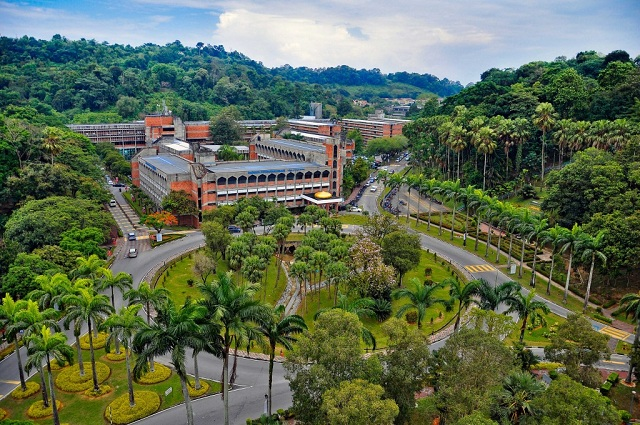 The UKM campus.